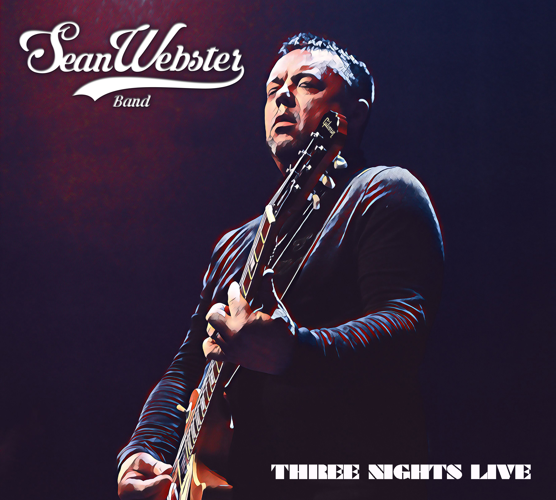 Thrilling Sean Webster Blues with Three Nights Live