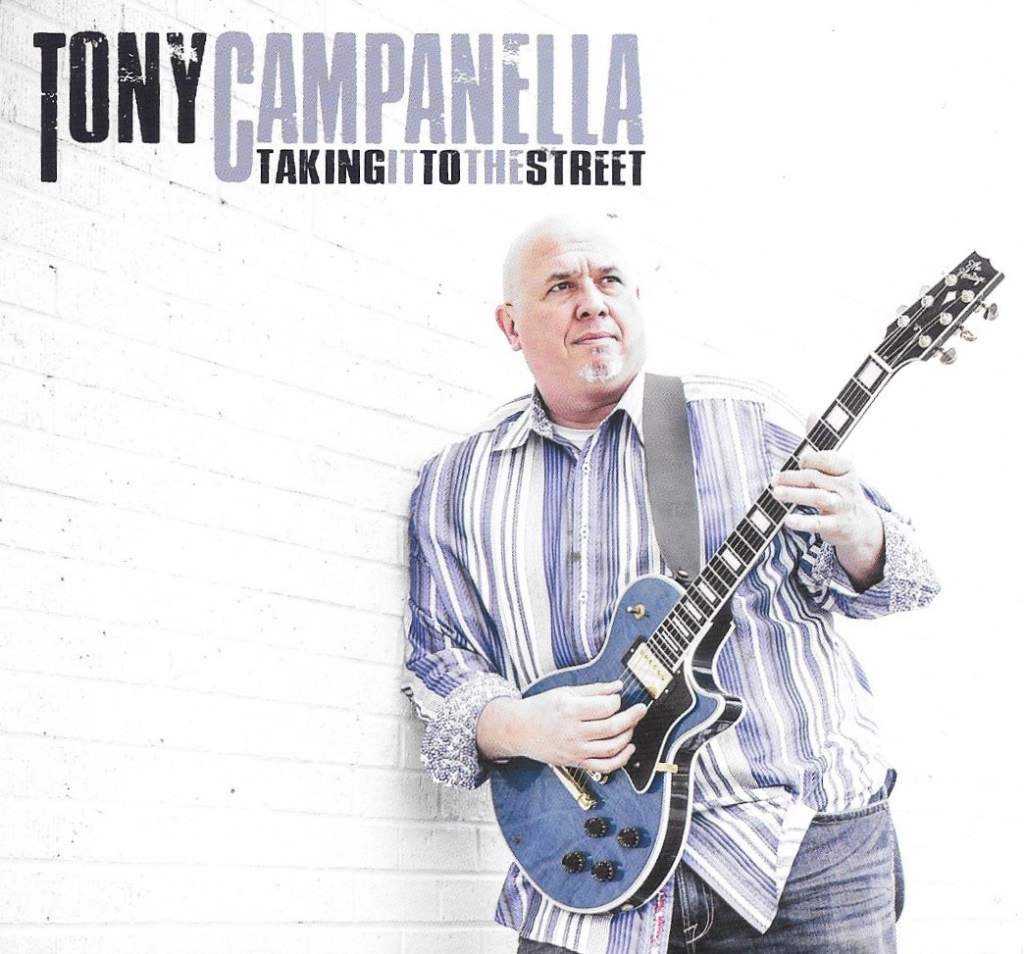 Tony Campanella is, at last, Taking It To The Street