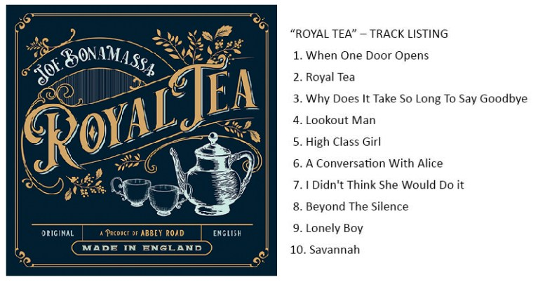 Royal Tea By Bonamassa Sweetens October Blues