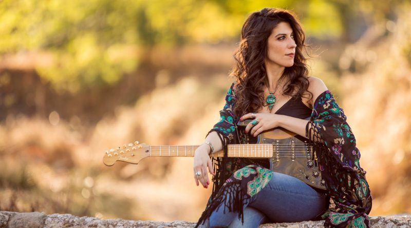 Susan Santos Crunching blues rock from her LA Sessions