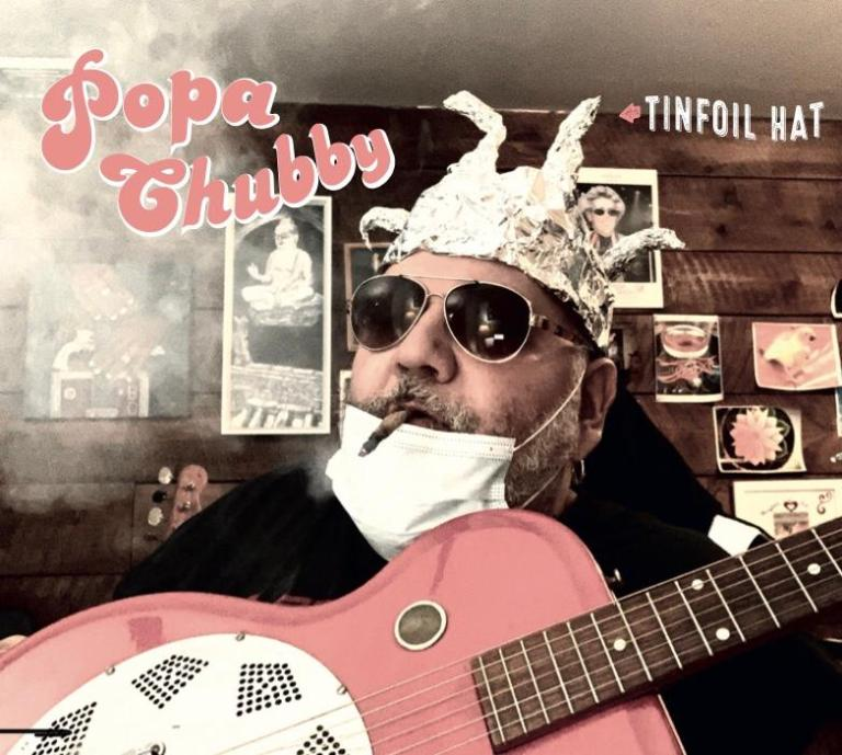 Popa Chubby wears his Tinfoil Hat