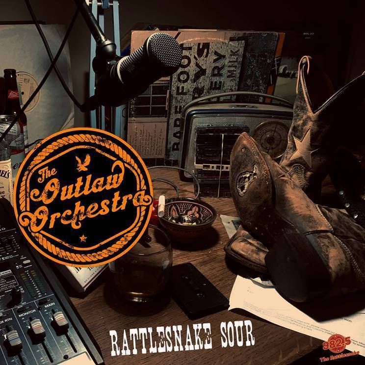 The Outlaw Orchestra Release Today Rattlesnake Sour