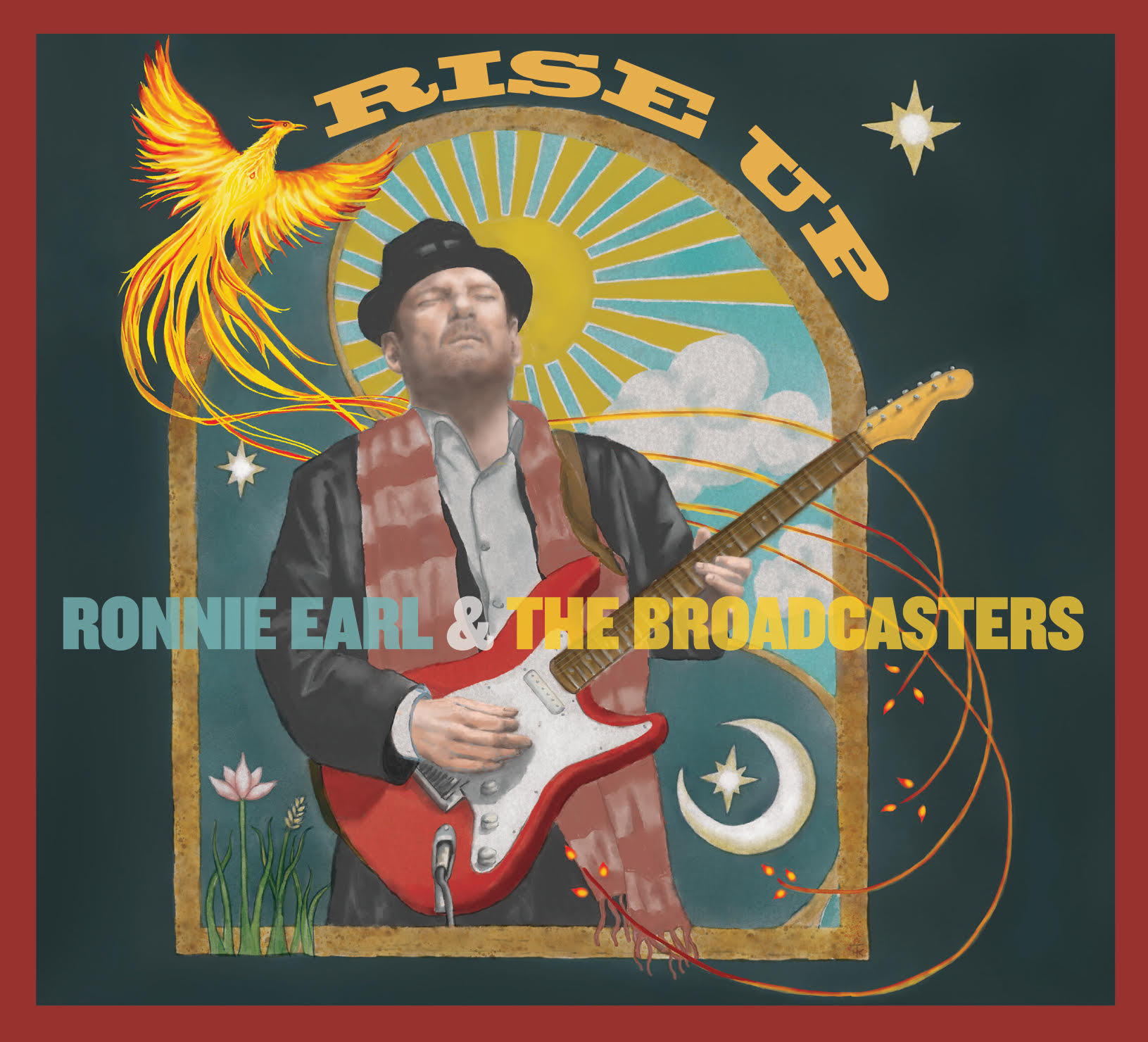 Rise Up with music from Ronnie Earl Today