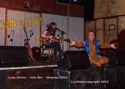 Lucy Zirins - Jaks Bar - Skegness 2013 - DSC_0586l