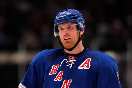 Brad Richards is trying to make Glen Sather's decision a tough one