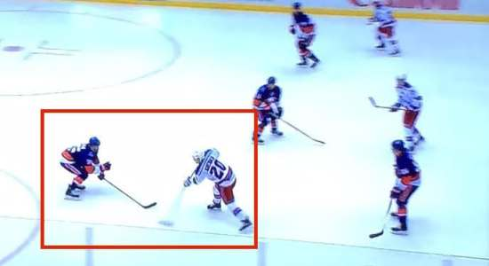 How to use a defenseman as a screen.