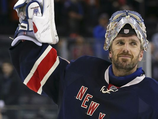 Henrik Lundqvist A Finalist For The King Clancy Award Blue Seat Blogs