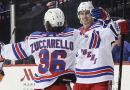 Zuccarello sends Rangers home happy in Brooklyn