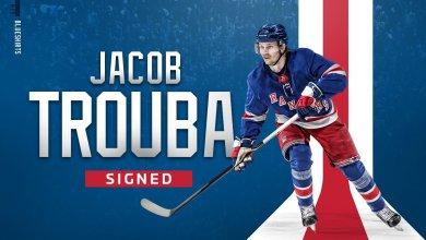 Photo of Rangers ink Jacob Trouba to seven year deal, $8 million per season
