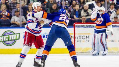 Photo of Rangers/Islanders pre-season game takes