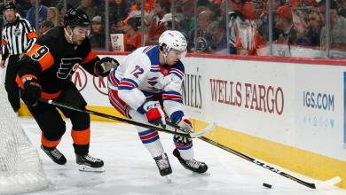 Photo of Looking for offense, David Quinn shakes up NY Rangers lines