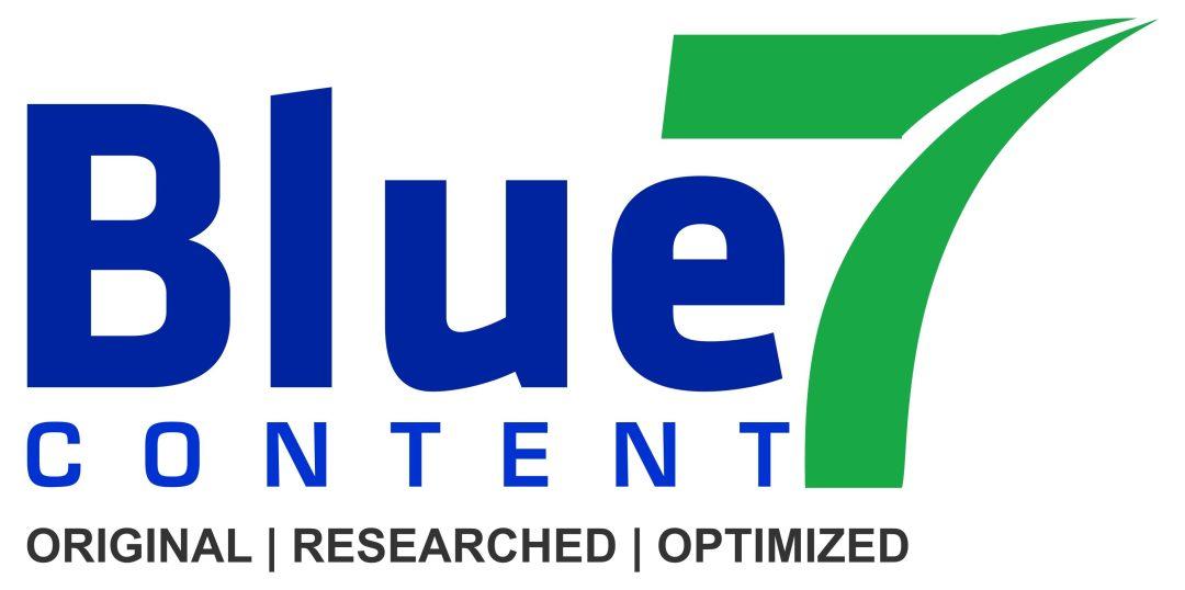Logo for Blue Seven Content