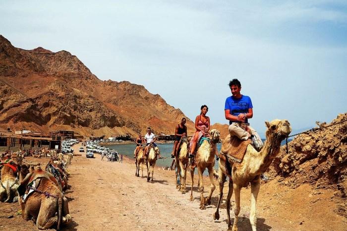 Цветной каньон и Абу Галум из Шарм-эль-Шейха