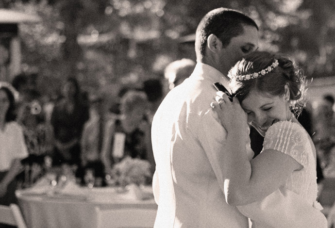 First Dance at Brookside Equestrian Center Wedding