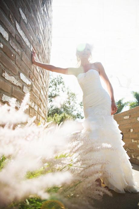 Bride at Estancia Hotel and Resort Spa in La Jolla, San Diego, California