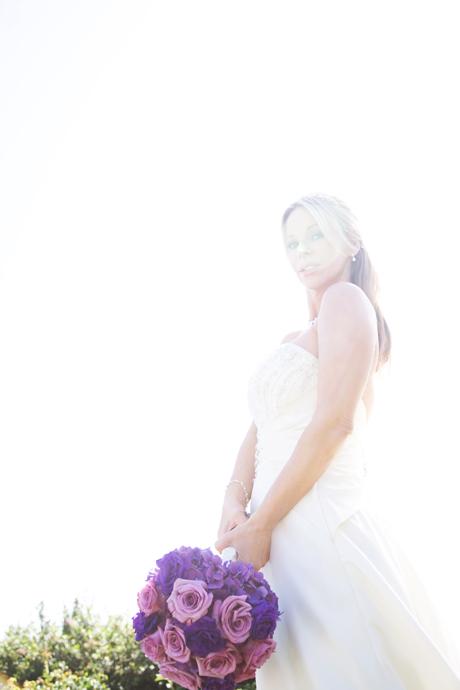 Bride at Laguna Cliffs Marriott Resort and Spa