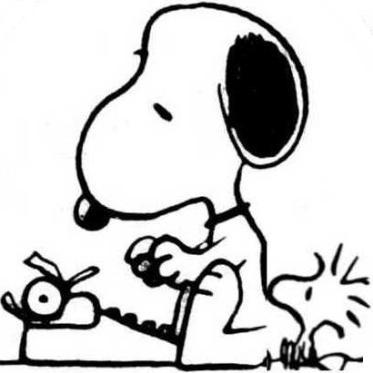 Snoopy-writing-1_