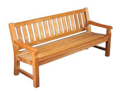 6' Commercial grade Outdoor Teak Bench