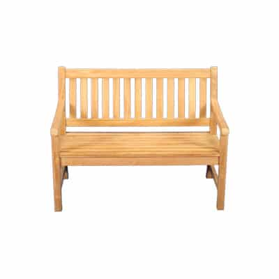 4' Outdoor Teak Bench