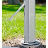 Outdoor Umbrella Base and Lever