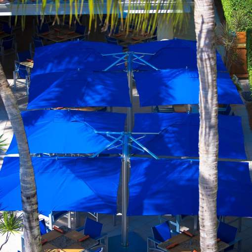 Tuuci Shade Pod, Commercial - Blue