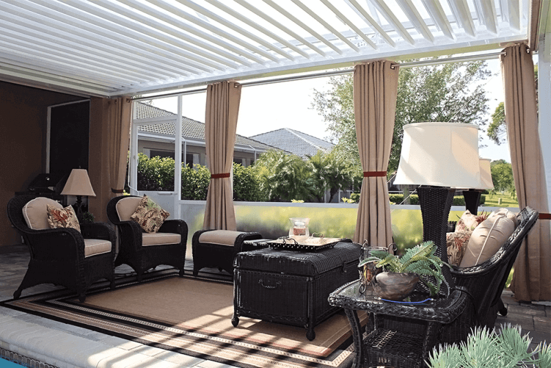 Louvered Struxure Pergola, Residential - Patio Furniture