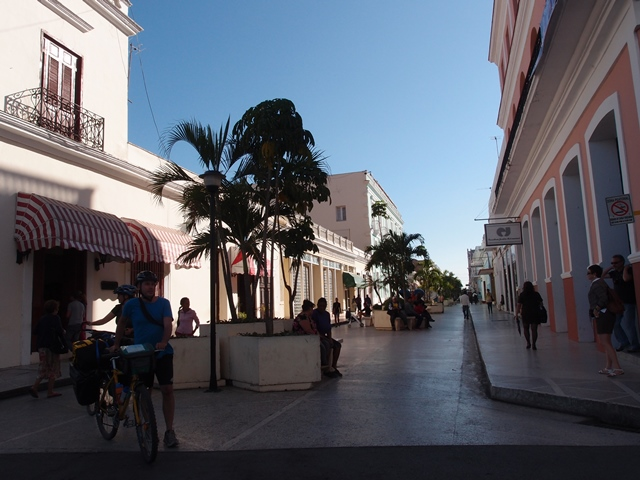Cienfuego in Cuba, Blue Sky and Wine