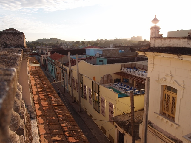 Santa Clara, Cuba, Blue Sky and Wine