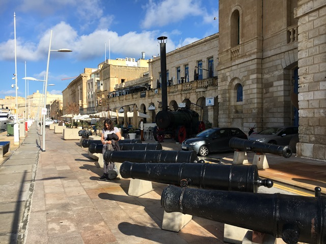 Grand Harbour, Malta, Blue Sky and Wine