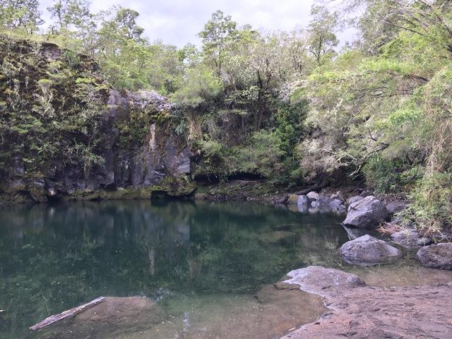 Petrohué waterfall, puerto varas, chile