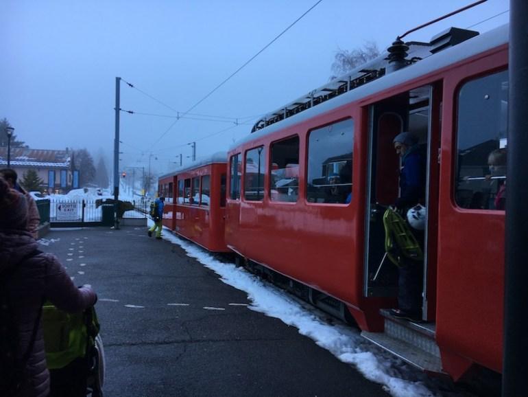 Montenvers Mer de Glace train, Blue Sky and Wine Travel Blog