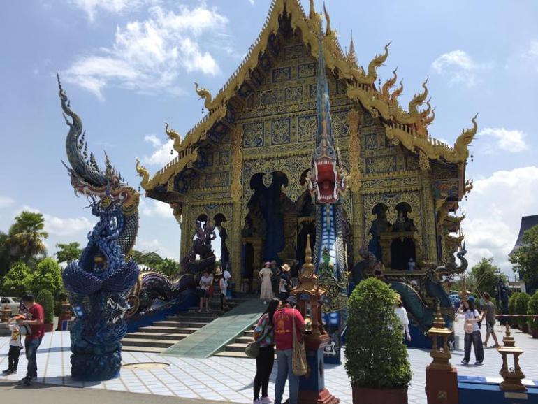 泰国清迈蓝庙