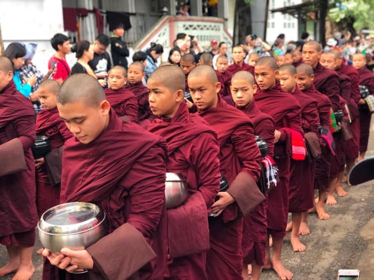 Amarapura, Mandalay, Blue Sky and Wine Travel Blog