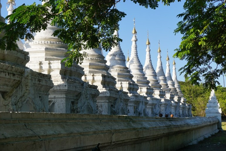 Blue Sky and Wine, Sandamuni & Kuthodaw Pagoda, Myanmar