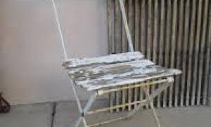 Vintage french garden chair