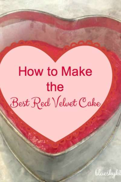 How to Make the Best Red Velvet Cake