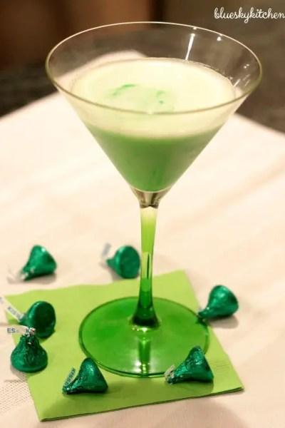 St. Patrick's Day Cocktail to Make Irish Eyes Smile