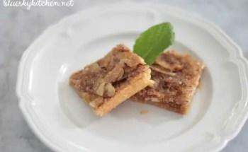 How to Make Almond~Honey Squares