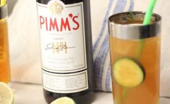 Refreshing Pimm's Cup Brings thoughts of New Orleans