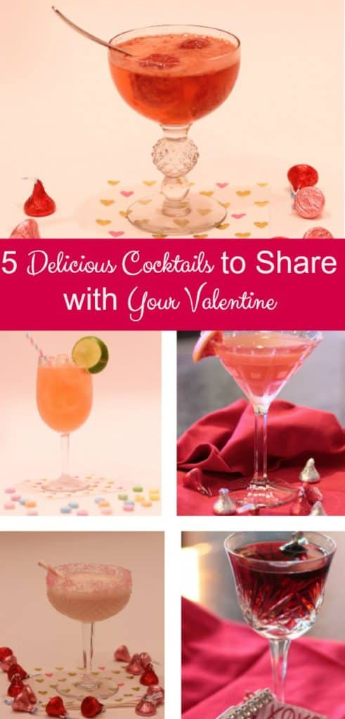5 delicious cocktails to share with your valentine