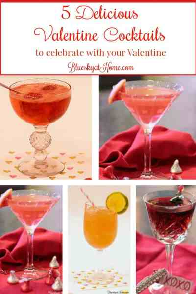 5 Delicious Valentine Cocktails to Celebrate