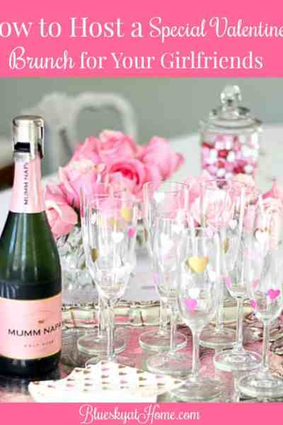 How to Host a Valentine Brunch for Your Girlfriends