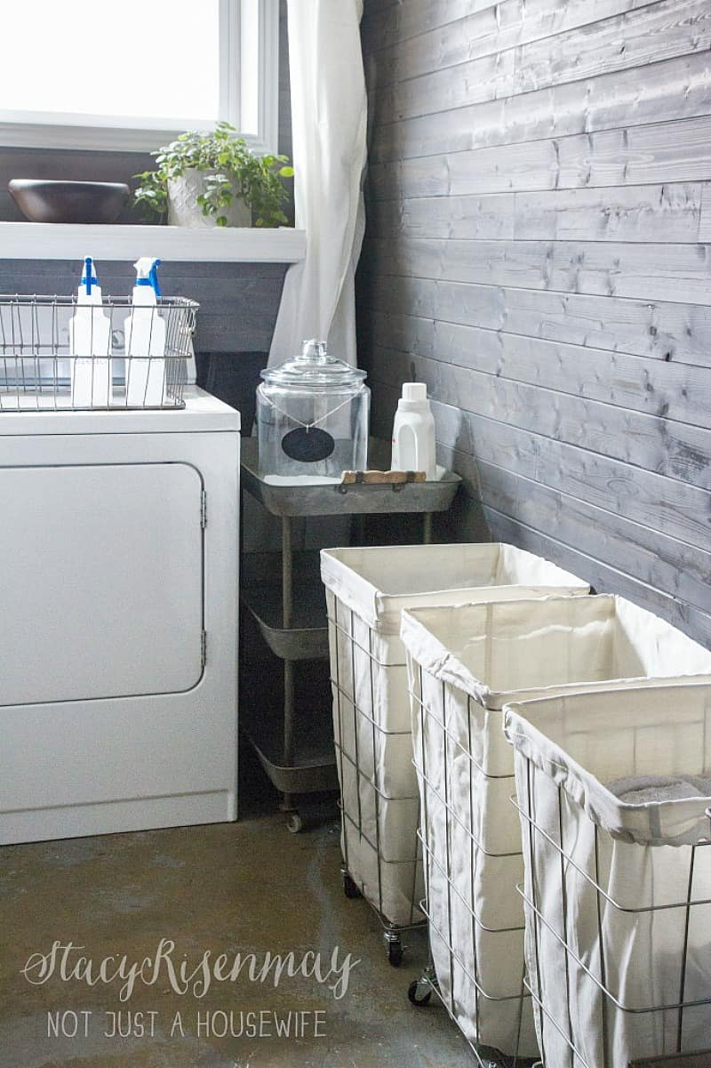 13 Awesome Laundry Room Ideas I Found for Inspiration. My laundry room makeover needs some practical and decorative inspiration that you'll love.