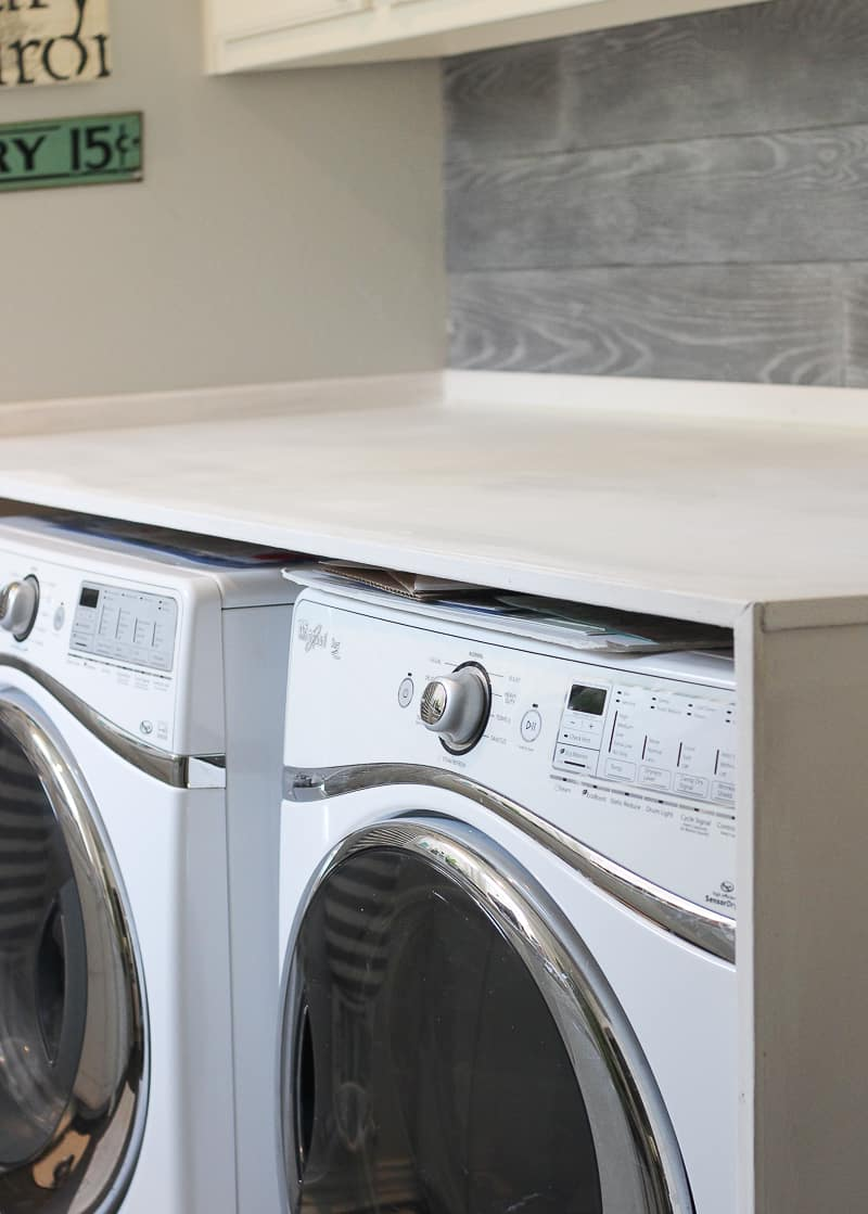 How To Install A Laundry Room Countertop. 2 Not So Handy People Install