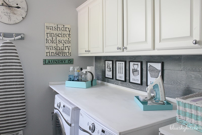 How to Make a Laundry Room Prettier and More Practical. Visit the big reveal of our laundry room makeover. Now it's pretty, practical and perfect.