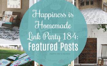 Happiness is Homemade Link Party 184