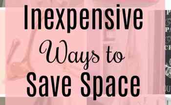 5 Easy Inexpensive Ways to Save Space Using Hooks