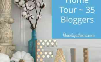 Fabulous Fall Home Tour ~ 35 Homes Share Inspiration