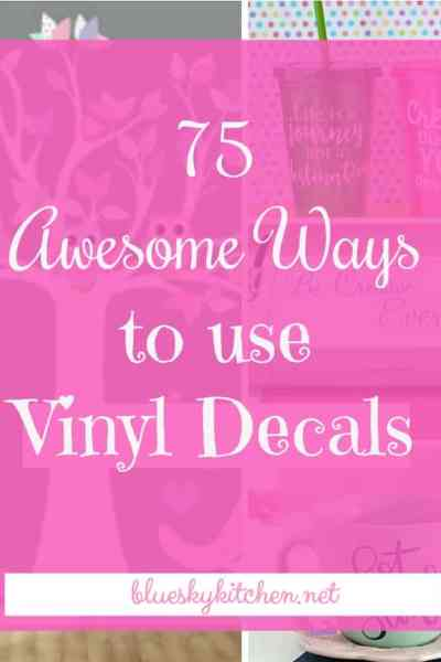 75 Awesome Ways to Use Vinyl Decals