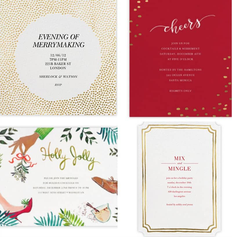 Holiday Party Planning Starts with an Awesome Invitation. Learn how a beautiful invitation sets the tone of your party. BlueskyatHome.com